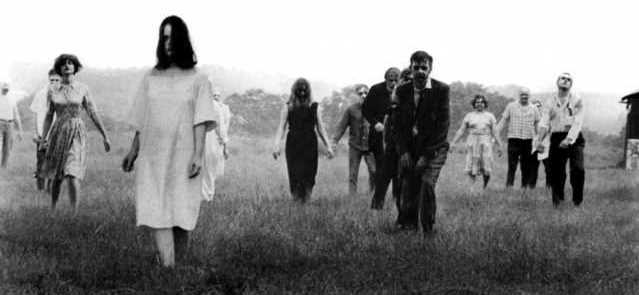 night of living dead zombie movie