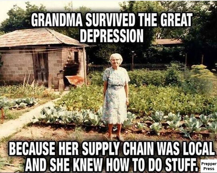 grandma great depression