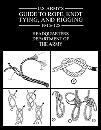 army guide to rope, knot tying, rigging cover